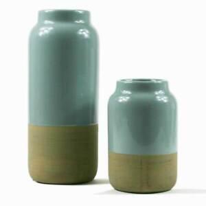 Broste Copenhagen Vase Set / 2 Tone Vase Set / Decorative Homewares
