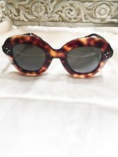 a48ba14be3d  375 NWT AUTHENTIC CELINE CL41445 S 086 IR-46 BROWN TORTOISE SUNGLASSES