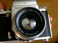Serviced: Pentacon Six TL & Zeiss Jena Biometar 2.8/80mm, fully working combo