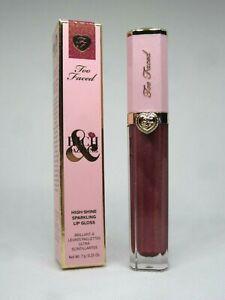 Too Faced Rich & Dazzling High-Shine Sparkling Lip Gloss Hidden Talents 0.25 oz.