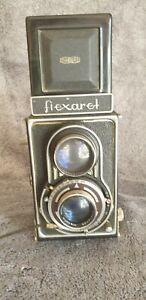 Alte Meopta Flexaret Portraitkamera mit Sonnenglas ca.1930 Funktion geprüft