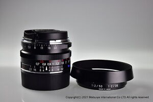 ** MINT ** Carl Zeiss C Biogon T * 35mm f/2.8 ZM Black