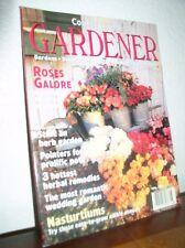 "Country Living Gardener June 1998 Vol.6 No.3 ""Roses Galore/Nasturtiums"""