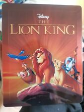 Disney's The Lion King - ZAVVI UK BLU-RAY STEELBOOK - ships worldwide