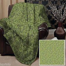 Grass Design Doux Couverture Polaire Couverture Throw Blanket Bed l&s Prints