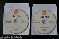 LATEST UBUNTU 15.04 LINUX PC LIVE DESKTOP 2015 OPERATING SYSTEM 32-BIT & 64-BIT