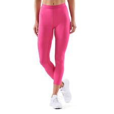 Skins Womens DNAmic 7/8 Skyscraper Tights Bottoms Pants Trousers Pink Sports Gym
