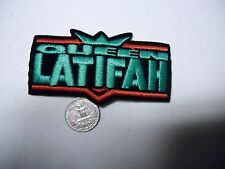 Queen Latifah Rap Hip Hop SEW/IRON ON EMBROIDERED PATCH NEW