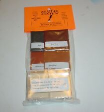 4 Color Bragdon Weathering Powders For Model Cars Trains Dioramas Rust Dirt NEW