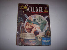 Super Science Stories January 1951 Issue Volume 7 Number 4 Pulp Magazine