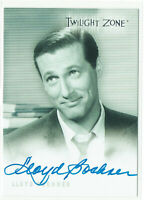 Twilight Zone Series 1 Autograph Card 1999 A-4 Lloyd Bochner as Michael Chambers