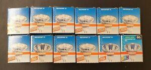 12 Halogenlampen OSRAM Decostar 51 44870 WFL 12V 50W 38° GU5,3