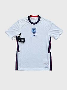 England 2020 2021 Home Shirt Jersey Nike Camiseta Trikot Mailot BNWT Size S