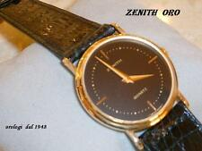 ZENITH  BTH 74941   oro quarzo cint. pelle