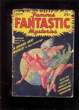FAMOUS FANTASTIC MYSTERIES (Pulp) 9.1942 FINLAY Cummings Maupassant Robbins