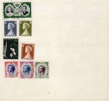 8 francobolli monaco come foto