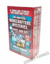 Minecraft The Unofficial Gamer's Series 6 Bks Box Set NEW & SEALED