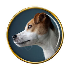 Parson Russell Terrier Lapel Pin Badge