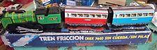 VALTOY ANNEE 70  VINTAGE TRAIN  METAL TREN FICTION REF 760 MADRID BARCELONA