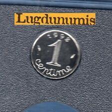 BE - 1 Centime Epi 1992 FDC 4 938 Exemplaires Provenant du coffret BE