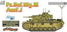 1/35 German Pz.Bef.Wg. III Ausf. J Command Tank - CyberHobby / Dragon #6544