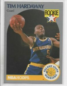 1989-90 HOOPS TIM HARDAWAY ROOKIE