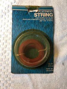 """NOS Genuine Homelite DA-92708 Weedeater String 50ft .065"""" Model ST-80 OEM"""