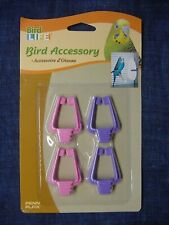 New listing 🦜 Penn Plax Bird Life Universal Clips - For Cuttlebone or Other Treats🦜