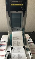 Tested  Zebra TLP 2824 Thermal Labels Printer Two Ethernet Ports New Cosmetic