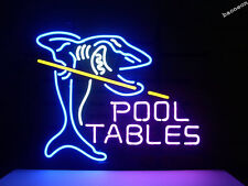 Pool Tables Billiards Game Club BEER BAR PUB NEON LIGHT SIGN Fast Shipping