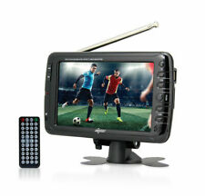 """Axess Portable Ac/Dc Tv Tv1703-7 7"""" Lcd Tv Built-in Rechargeable Battery"""