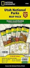 National Geographic Trails Illustrated Map: Utah National Parks by National Geographic Maps (2014, Map, Other)