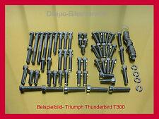 TRIUMPH THUNDERBIRD t300-v2a motore viti viti Set di viti in acciaio inox