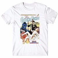 "T-shirt Uomo /""Kubrick/"" maglietta 100/% cotone Grafite"