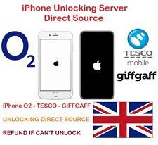 Unlock Code For iPhone 4 4s 5 5S 5C 6 6+ 6S 6S+ SE 7 7+8 8+X O2 Tesco Unlocking