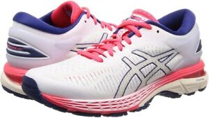 ASICS Woman Running Shoes LADY GEL-KAYANO 25 Wide 1012A032 White From Japan
