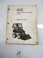 New Holland L250 L 250  skid loader service & repair manual