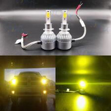 NEW H1 3000K Yellow 8000LM High Power CREE LED Headlight Bulbs Kit High Low Beam