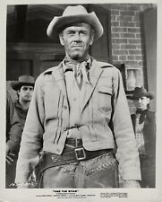 Henry Fonda ~ ORIGINAL 1957 western scene portrait ~ The Tin Star