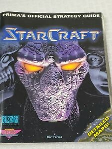Starcraft 1998 Prima Official Strategy Guide PC softcover Bart Farkas Blizzard
