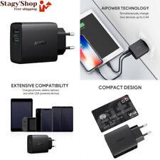 Aukey Chargeur USB Secteur 2 ports 24w 4 8a avec Technologie AiPower ADAPT ...