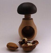 50 traditionnel en bois Casse-noix forme de champignon naturel Ensemble 12