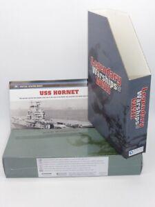 Atlas Editions DeAgostini 1:1250 Model USS Hornet SEALED & Extras, Item 7134111