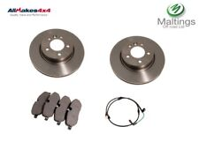 landrover discovery 3 front brake discs and pads lr019618 sdb000604 sem000024