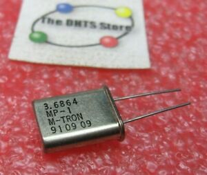 Crystal 3.6864 MHz M-TRON Baud Rate - NOS Vintage Qty 1