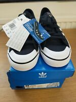 Adidas Nizza CQ2332 Unisex Size 4 Black/White Originals