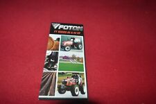 Foton FT 600 604 820 824 Tractor Dealers Brochure CDIL