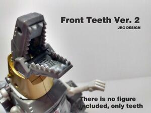 Front Teeth Ver. 2 For Grimlock Transformers Studio Series 86 JRC DESIGN