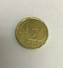20 Cent EURO Coin 2002 Year