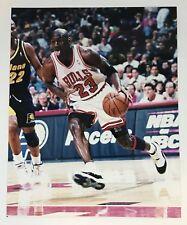 VINTAGE MICHAEL JORDAN PHOTO 8x10 UNSIGNED CHICAGO BULLS AIR JORDAN XI CONCORD